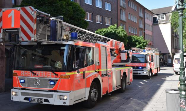 Aktuelle Meldung Feuerwehr Düsseldorf