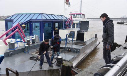 Düsseldorf bereitet sich auf Hochwasser vor