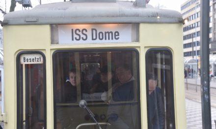 Linie zum ISS DOME eingeweiht