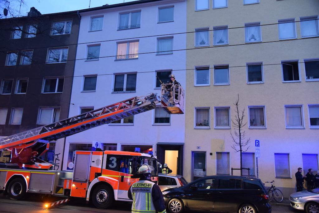 Küchenbrand in der Schloßstraße Foto: LOKALBÜRO