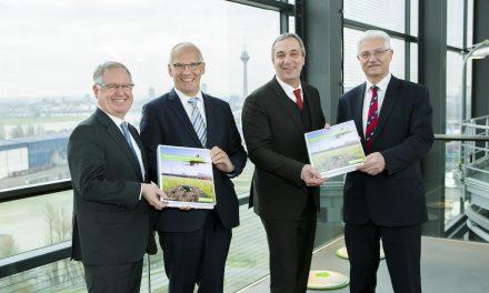 Flughafen Düsseldorf hebt beim Klimaschutz ab