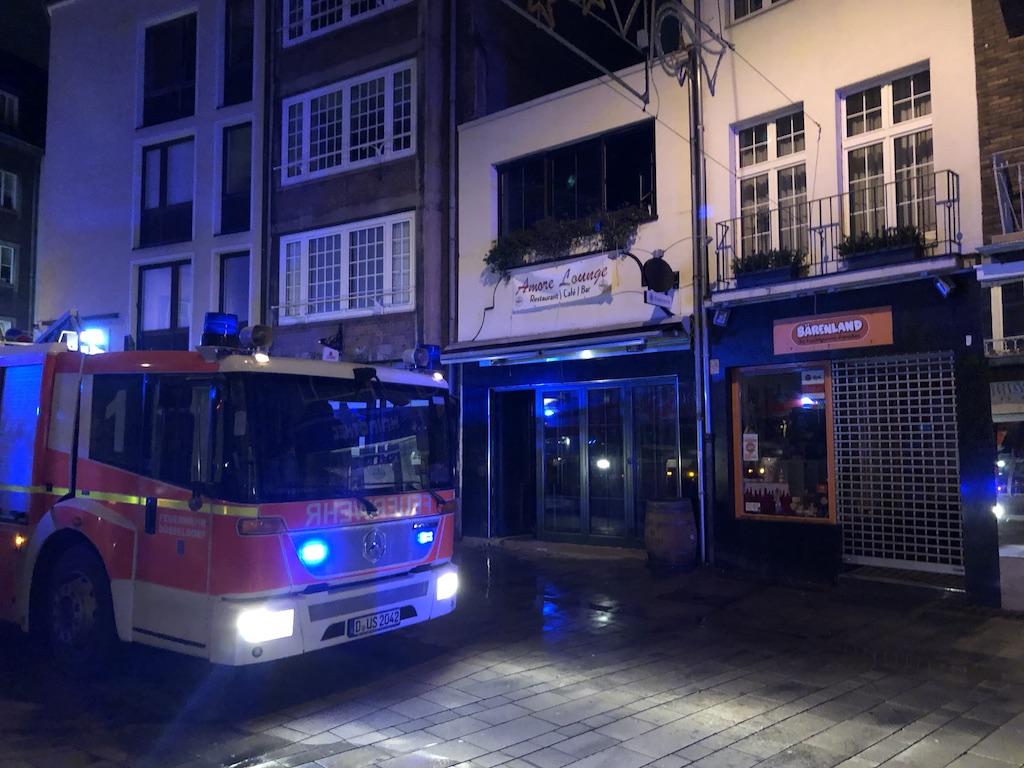 Feuer in der Altstadt Foto: LOKALBÜRO