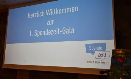 """Erste """"SPENDE ZEIT""""Gala"""