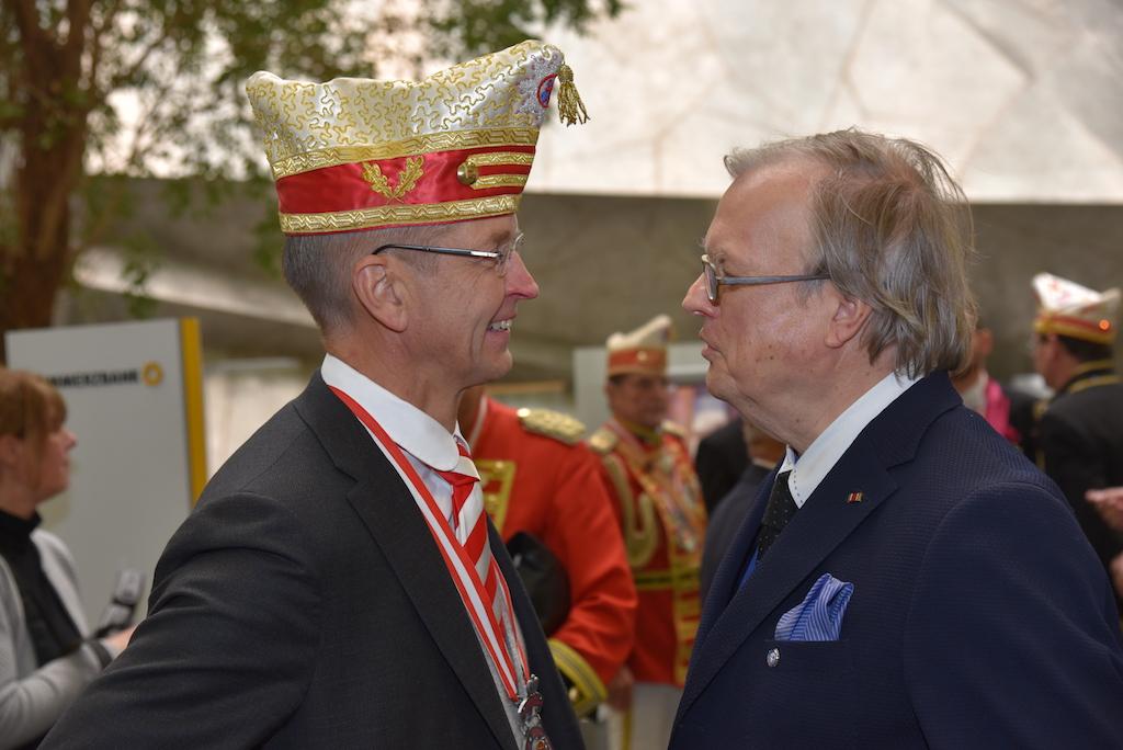 Josef Hinkel und Heribert Klein Foto: LOKALBÜRO