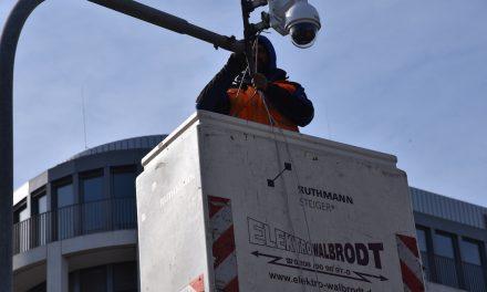 Neue Kameras an der Heinrich-Heine-Allee