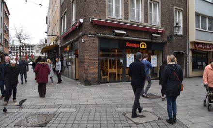 Kamps in der Berger Straße wird Flagship Store