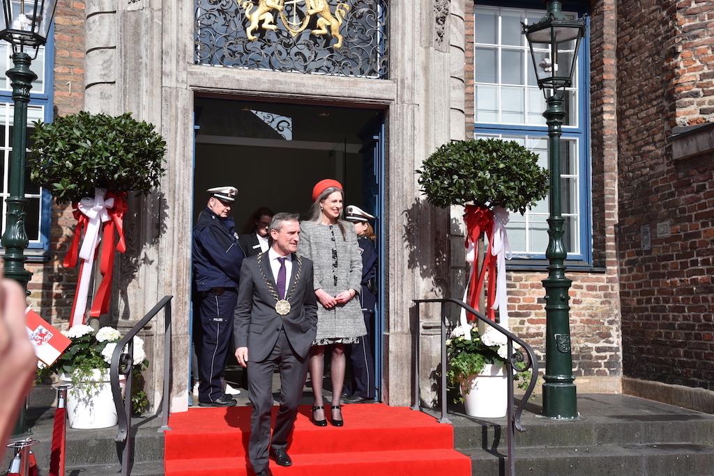 OB Tomas Geisel und Ehefrau Foto: LOKALBÜRO