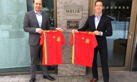 Fußball vom Feinsten Meliá Düsseldorf punktete als Teamhotel der spanischen Nationalmannschaft