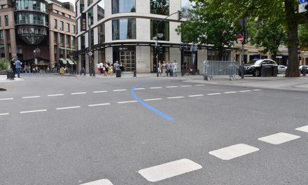 Die Orientierungslinie für den METRO Marathon Düsseldorf