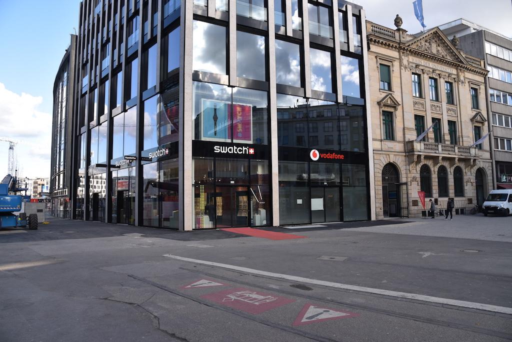 Büro- und Geschäftshaus am Schadowplatz Foto: LOKALBÜRO