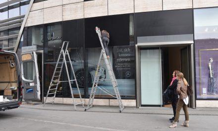 Mercedes eröffnet Showroom im Kö Bogen