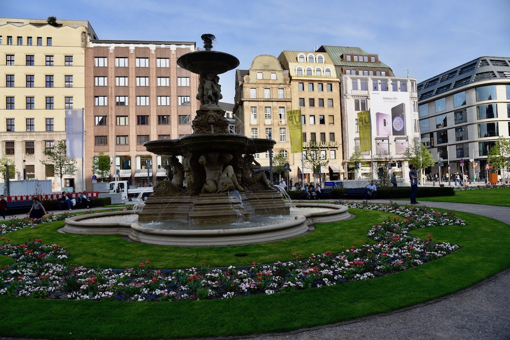 Blick auf den Corneliusplatz Foto: LOKALBÜRO