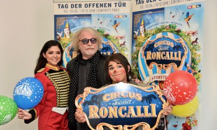 Roncalli – der Circus kommt in dieStadt
