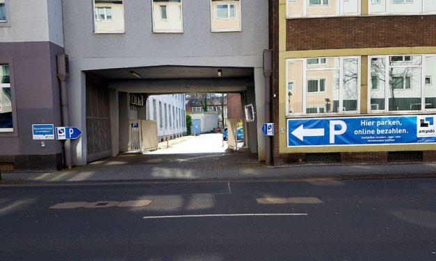 Der Parkraumbewirtschafter ampido bietet 150 neue Parkplätze in Pempelfort an