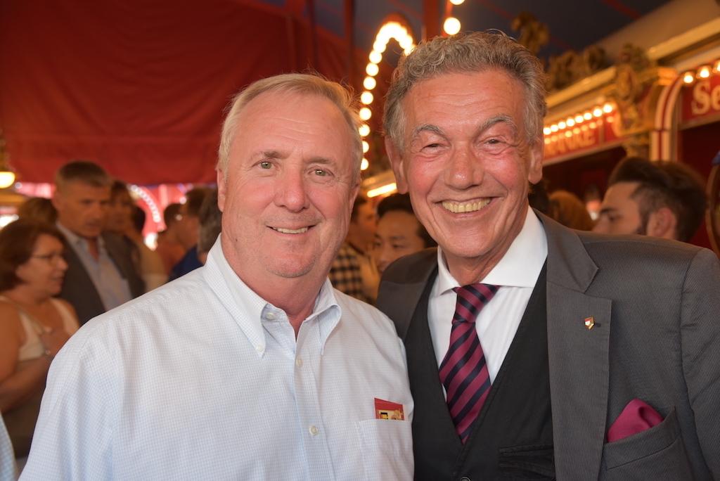 Axel Pollheim und Baas der Jonges Wolfgang Rolshoven