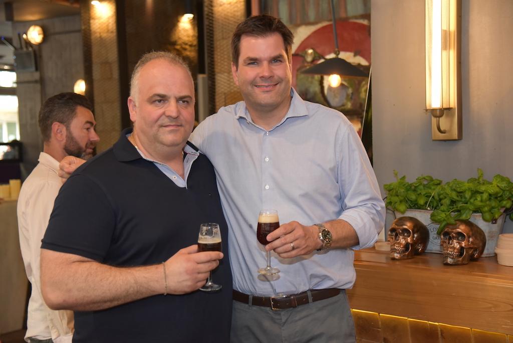 Nikos Mitrokou und Dr. Christoph Tenge Foto: LOKALBÜRO