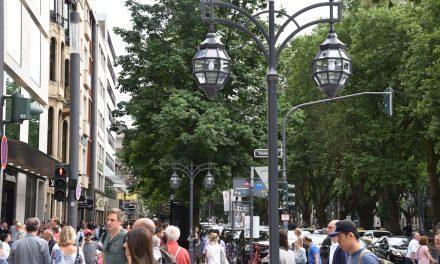 Auf der Kö: Historische Kandelaber statt LED-Latten