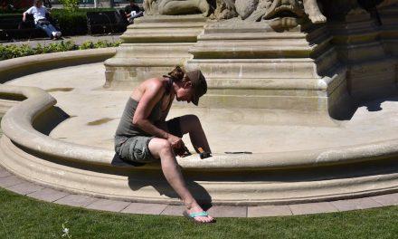Schalenbrunnen – Montag wieder fit