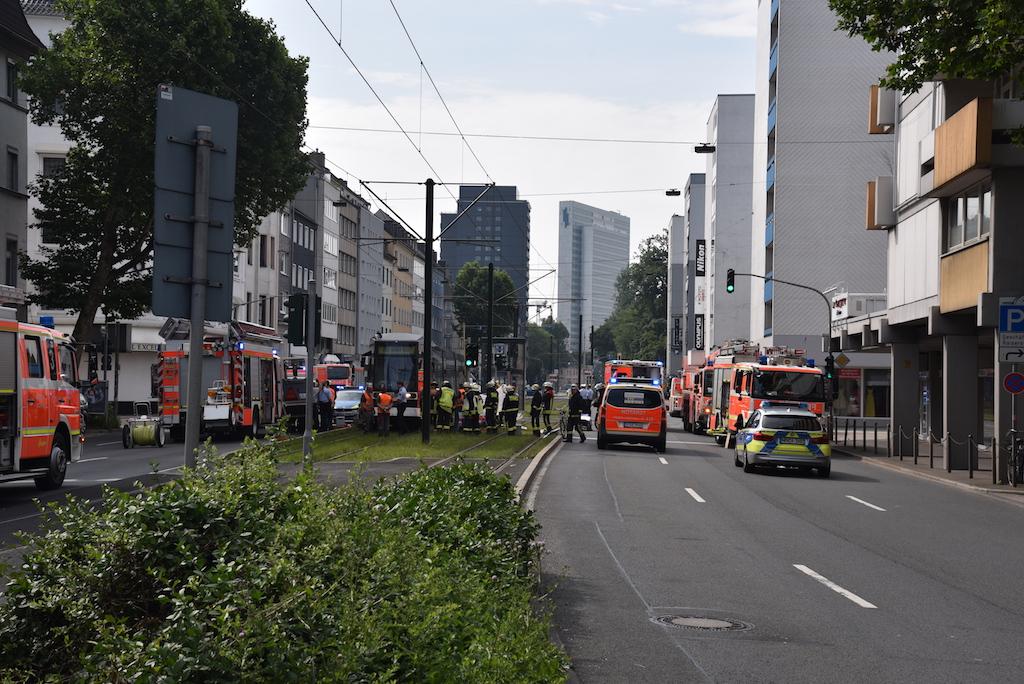 Unfall Kaiserstraße Foto: LOKALBÜRO