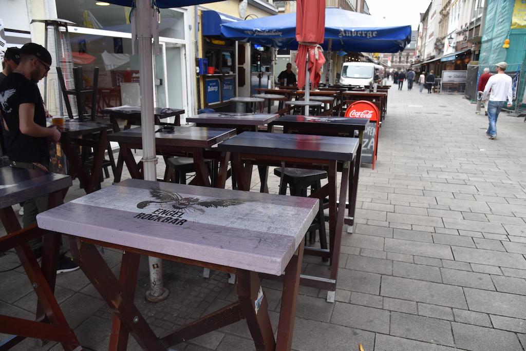 WM Deko Altstadt Foto: LOKALBÜRO