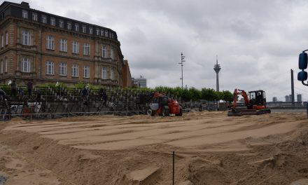 Beach-Volleyball in Düsseldorf