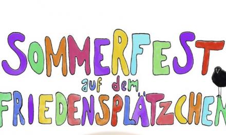 Sommerfest auf dem Friedensplätzchen