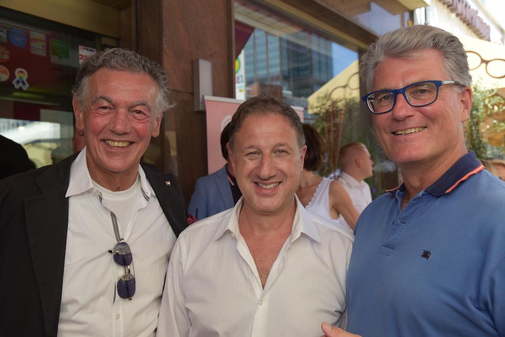 Wolfgang Rolshoven, Dr. Karl Schuhmann und Prof. Dr. Andreas Meyer-Falcke Foto: LOKALBÜRO