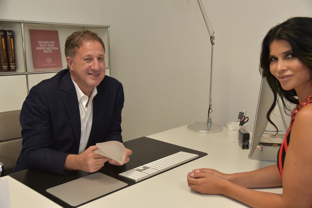 Dr. Karl Schuhmann und Michaele Schäfer Foto: LOKALBÜRO