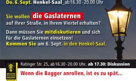 Podiums-Veranstaltung in Henkel- Saal