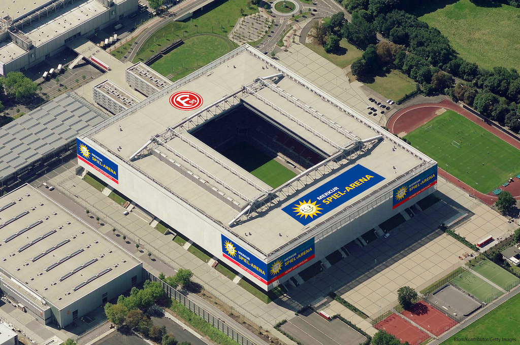 Düsseldorf Merkur Spiel Arena