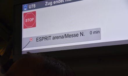 Rheinbahn fährt noch zur Esprit Arena