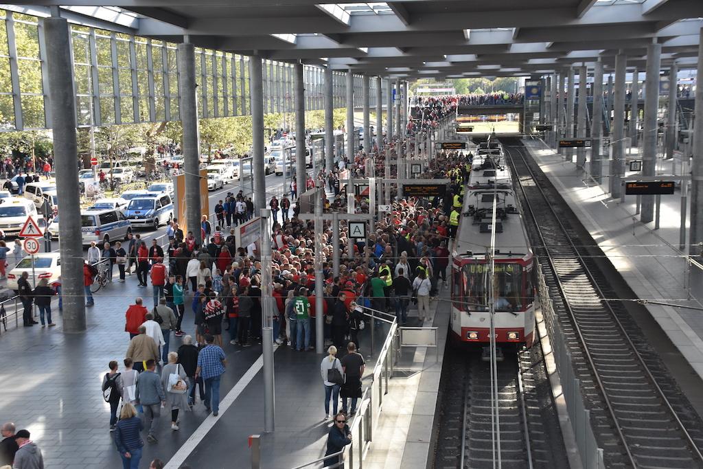Haltestelle Arena Foto: LOKALBÜRO