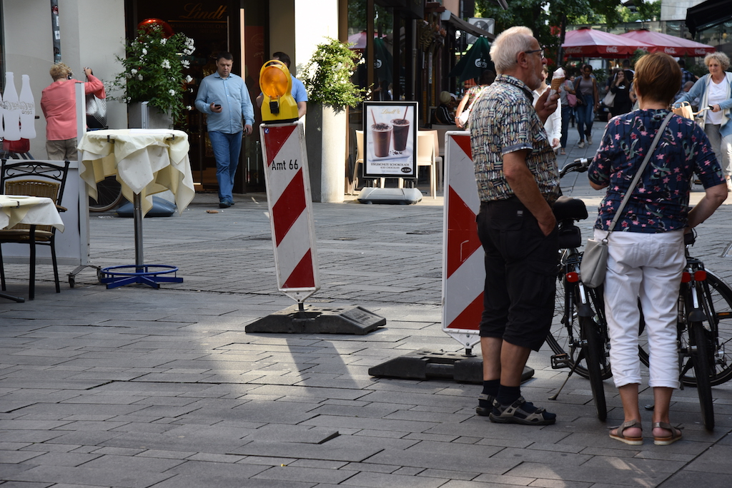 Stolperfalle Altstadtpflaster