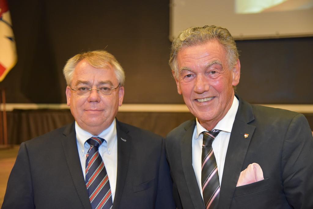 Klaus-Heiner Lehne und Wolfgang Rolshoven