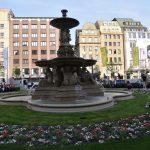 Schalen- und Tritonenbrunnen außer Betrieb