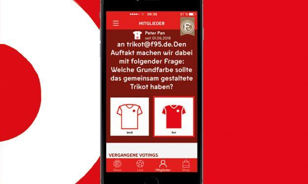 Fortuna Düsseldorf präsentiert offizielle App