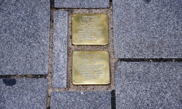 Neue Stolpersteine in der Altstadt