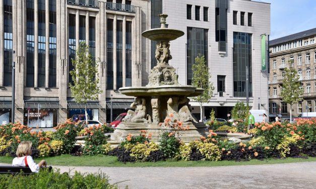 Schalen- und Tritonenbrunnen wieder außer Betrieb