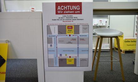 Postfiliale Heinrich-Heine-Allee zieht um