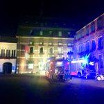 Feuerwehreinsatz im Rathaus