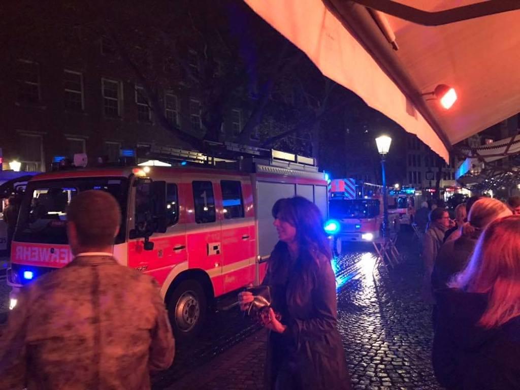 Feuerwehreinsatz am Ueirge