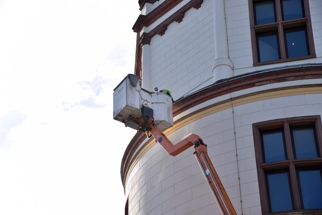 Umstellung der Beleuchtung durch die Netzgesellschaft Foto: LOKALBÜRO