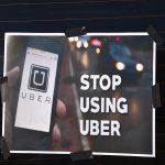 Protestfahrt von 700 Taxen gegen Uber