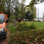 Parkanlagen werden winterfest gemacht