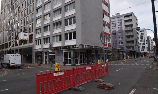 Ampelausfall an Kreuzung Kaiser-/Stern-/Insel-/Rosenstraße