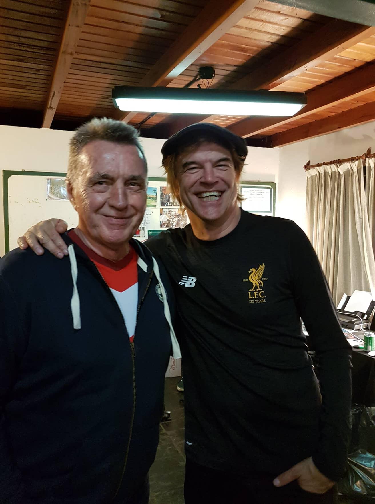 Wilfried Woyke und Campino Foto: Privat