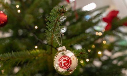 Fortuna Weihnachtsbaum bei derAOK