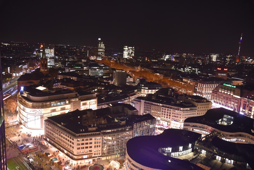 Blick  auf Düsseldorf Foto: LOKALBÜRO