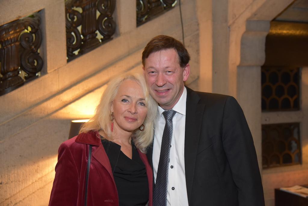 Burkhard Hintzsche und Ehefrau Foto: LOKALBÜRO