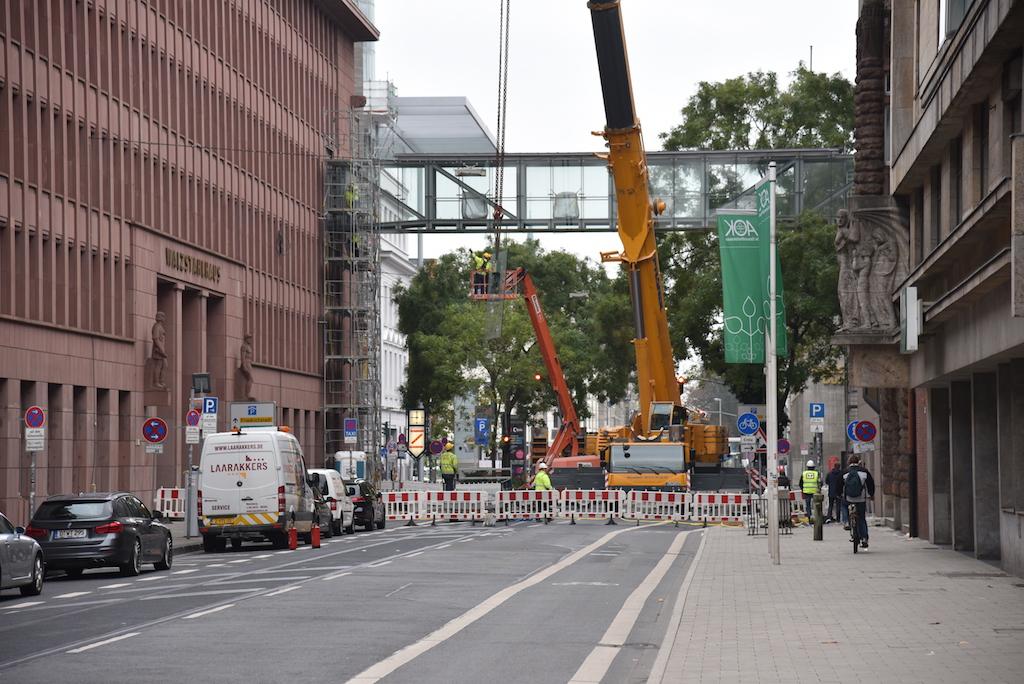 Abriss Walzstahl Brücke Foto: LOKALBÜRO